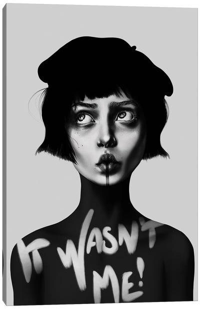 It Wasn't Me! Canvas Art Print
