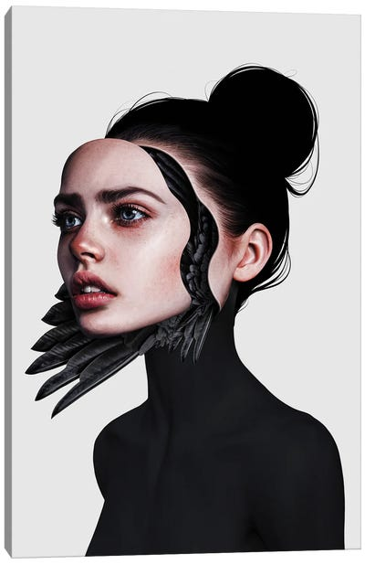 Behind The Mask Canvas Art Print