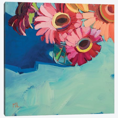 On Top Of The World Canvas Print #LRS11} by Mónica Linares Canvas Artwork