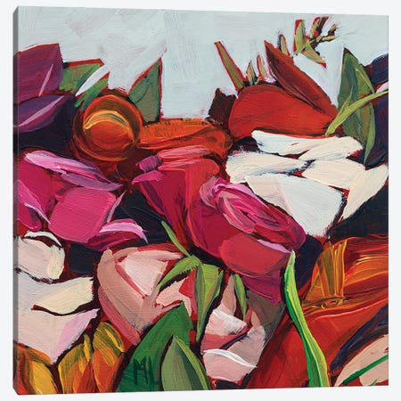 Small Bunch Canvas Print #LRS18} by Mónica Linares Canvas Wall Art