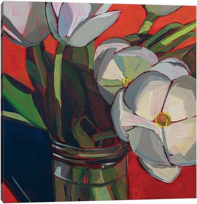 Tulips Sunbathing Canvas Art Print
