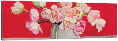 White Tulips Canvas Art Print