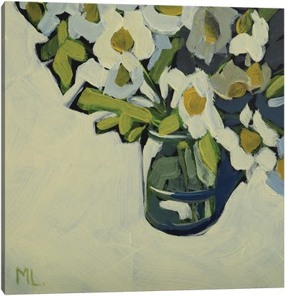 Mini Daisies Canvas Art Print