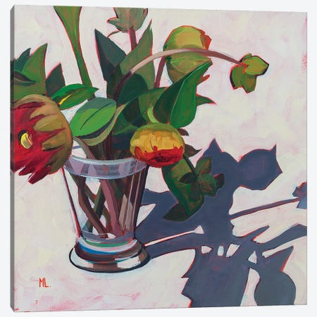 Brussels Canvas Print #LRS3} by Mónica Linares Art Print