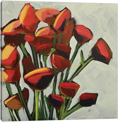 Primaries (Top Part) Canvas Art Print