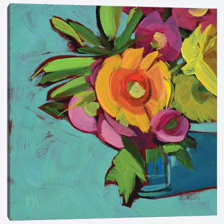 Carnival Canvas Print #LRS7} by Mónica Linares Canvas Art