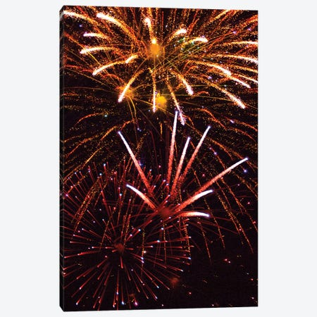 Fireworks IX Canvas Print #LRU10} by Doug LaRue Canvas Artwork
