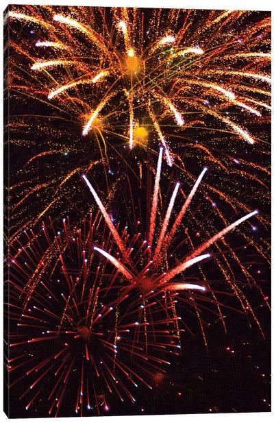 Fireworks IX Canvas Art Print