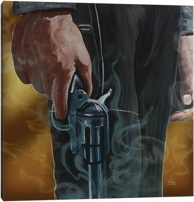 Gunfighter Canvas Art Print