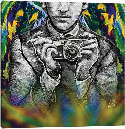Hamburg Selfie Canvas Art Print