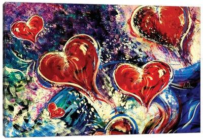 Hearts Adrift Canvas Art Print