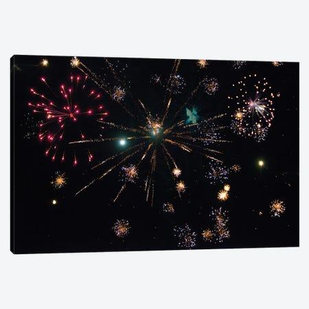 Fireworks VII Canvas Print #LRU1} by Doug LaRue Canvas Print