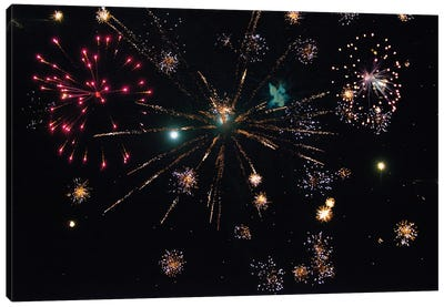 Fireworks VII Canvas Art Print