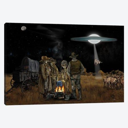 Space Cowboys Canvas Print #LRU25} by Doug LaRue Canvas Art
