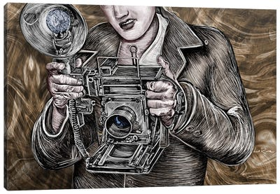 Camera King Canvas Art Print