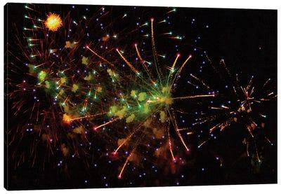 Fireworks LII Canvas Art Print