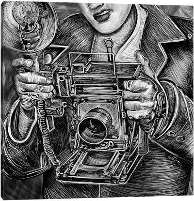 View Camera Canvas Art Print