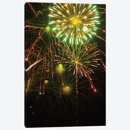 Fireworks XXX Canvas Print #LRU3} by Doug LaRue Canvas Art Print