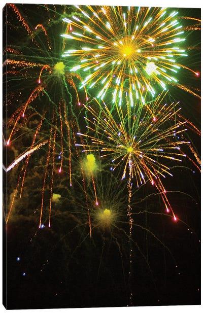 Fireworks XXX Canvas Art Print