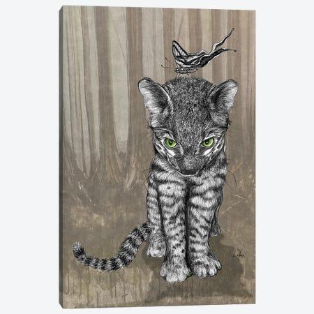 Jungle Kitty Canvas Print #LRU41} by Doug LaRue Canvas Art Print