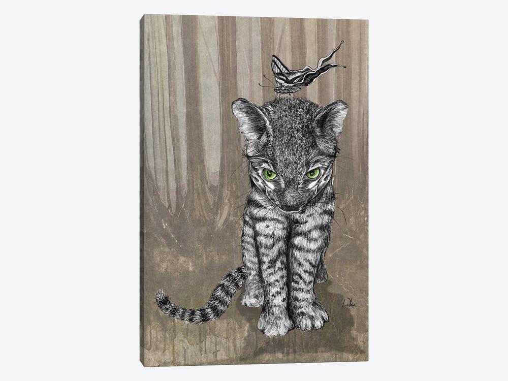 Jungle Kitty by Doug LaRue 1-piece Canvas Art