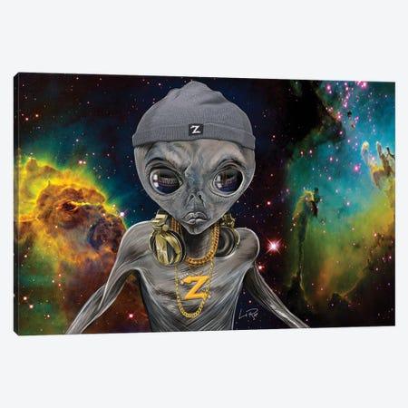 Dj Zedd Canvas Print #LRU42} by Doug LaRue Art Print