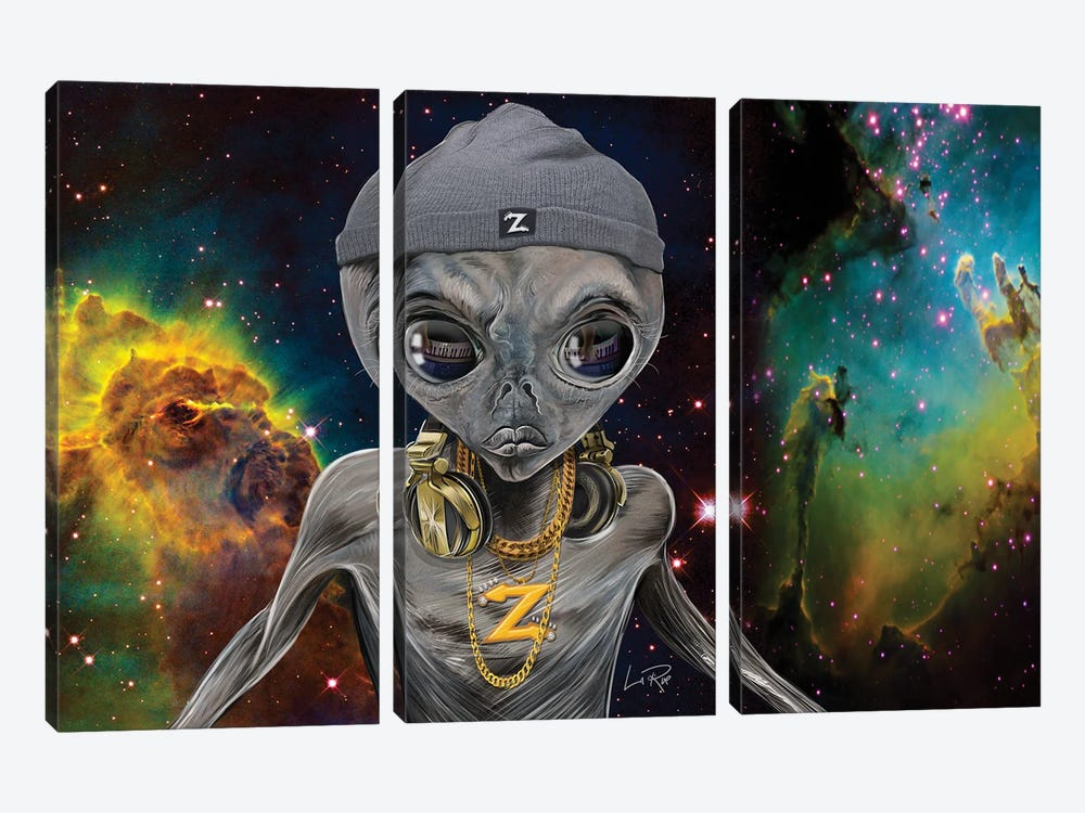 Dj Zedd by Doug LaRue 3-piece Art Print