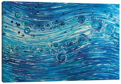 1420 Flow Canvas Art Print