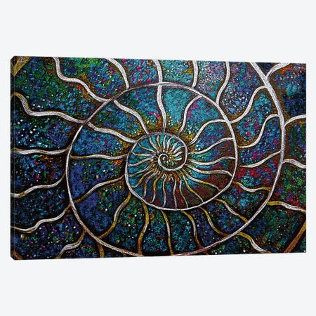 Ammonite 19C Canvas Print #LRU46} by Doug LaRue Canvas Wall Art