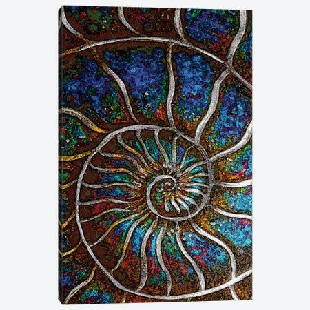 Ammonite E Canvas Print #LRU47} by Doug LaRue Canvas Art