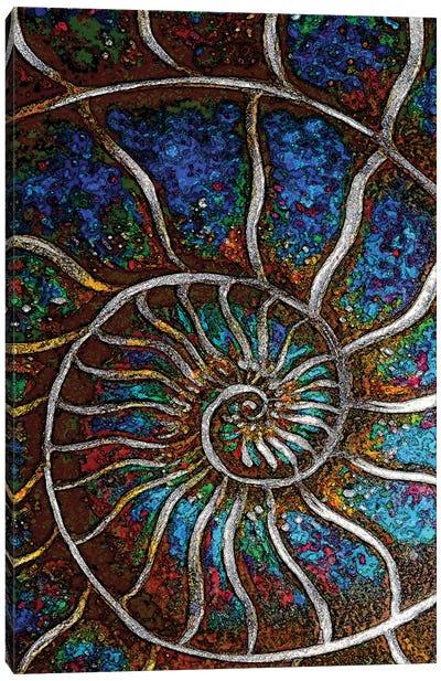 Ammonite E Canvas Art Print