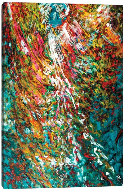Angel Abstract Canvas Art Print