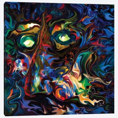 Aura Abstract Canvas Print #LRU49} by Doug LaRue Canvas Art Print