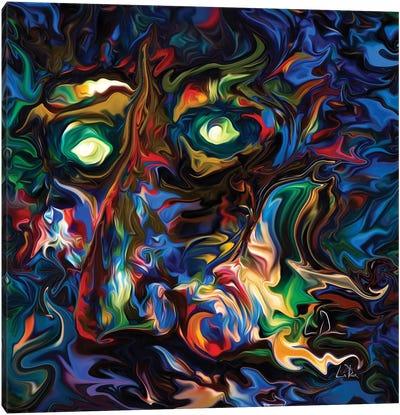 Aura Abstract Canvas Art Print