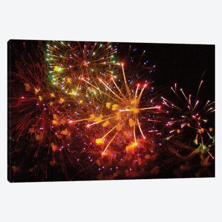 Fireworks LI Canvas Print #LRU4} by Doug LaRue Canvas Wall Art