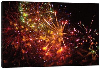 Fireworks LI Canvas Art Print