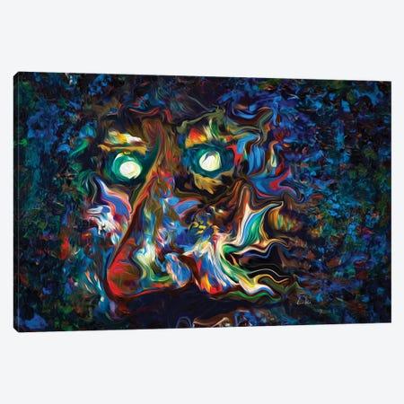 Aura Abstract II Canvas Print #LRU50} by Doug LaRue Canvas Art
