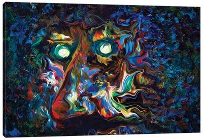 Aura Abstract II Canvas Art Print