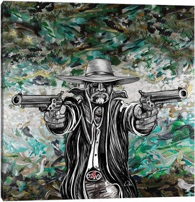 Bad Hombre Square Canvas Art Print
