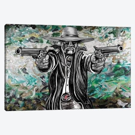 Bad Hombre Canvas Print #LRU52} by Doug LaRue Canvas Artwork