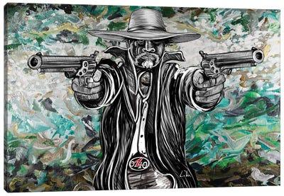 Bad Hombre Canvas Art Print