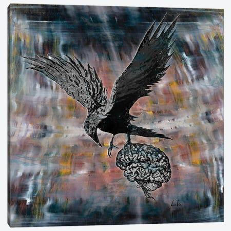 Bird Brain Canvas Print #LRU53} by Doug LaRue Canvas Art