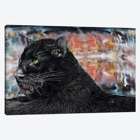 Black Panther Canvas Print #LRU54} by Doug LaRue Canvas Art Print