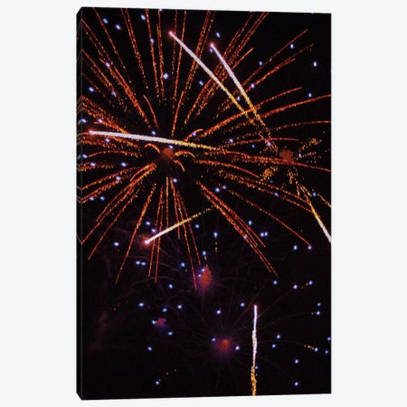 Fireworks LIII Canvas Print #LRU5} by Doug LaRue Canvas Artwork