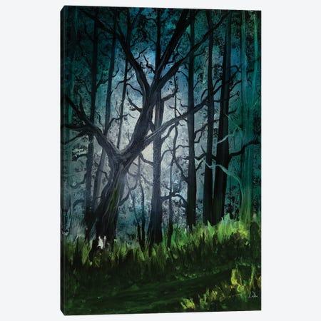 Dark Forest Glow Canvas Print #LRU61} by Doug LaRue Canvas Art Print