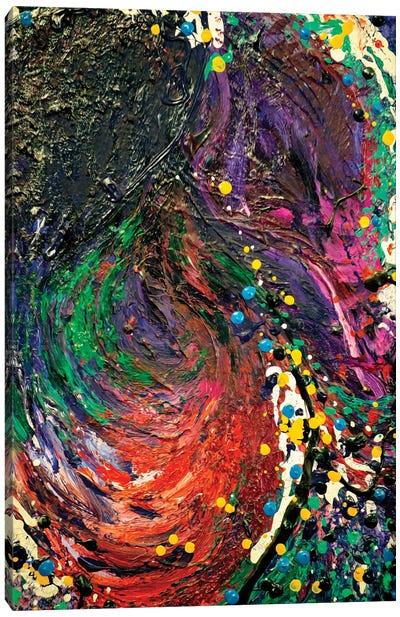 Embraced Point Canvas Art Print