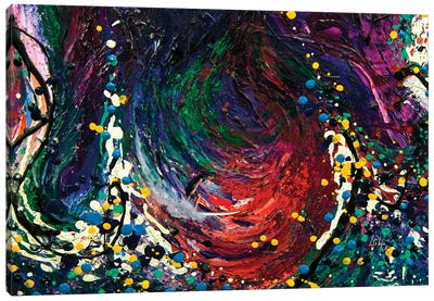 Embraced Surfer Canvas Art Print