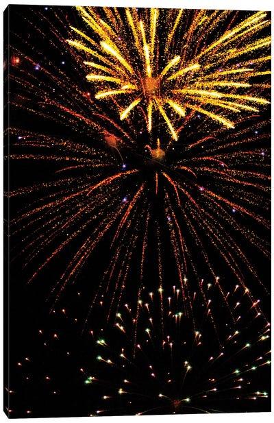 Fireworks LIII-II Canvas Art Print