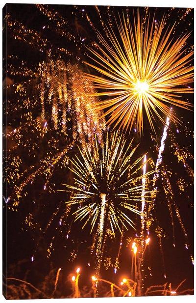 Fireworks XCV Canvas Art Print