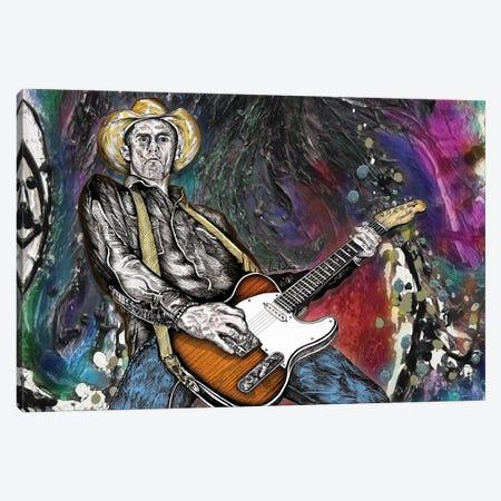 Country Rock Guitar 2 Canvas Print #LRU86} by Doug LaRue Canvas Artwork